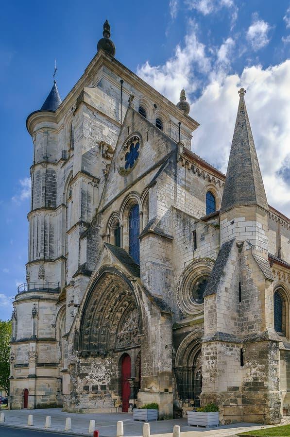 Heiliges Etienne Church, Beauvais, Frankreich lizenzfreies stockfoto