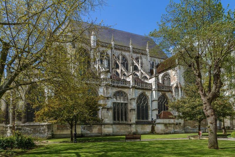 Heiliges Etienne Church, Beauvais, Frankreich lizenzfreie stockbilder