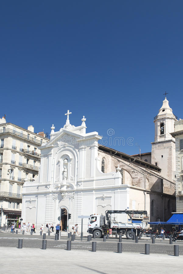Heiliges-Ferréol les Augustins-Kirche in Marseille lizenzfreies stockfoto