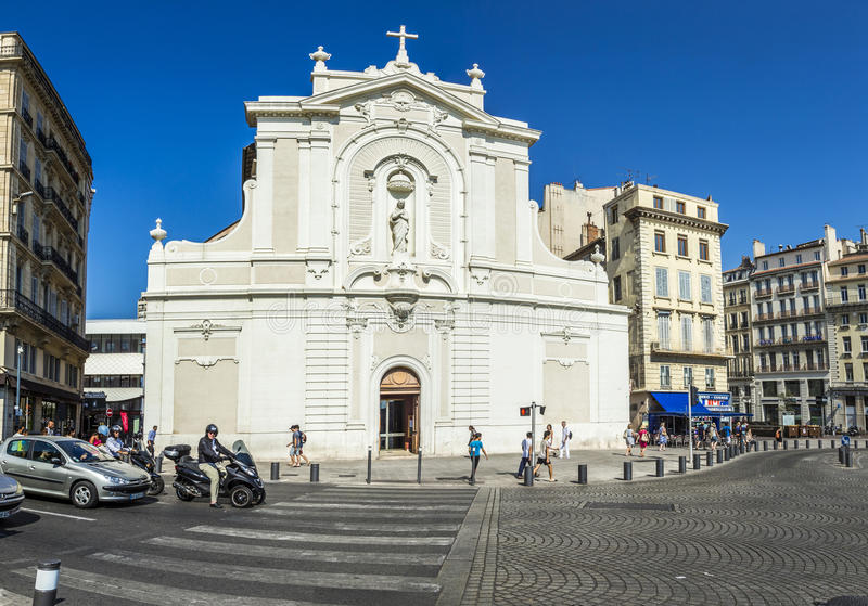 Heiliges Ferreols-Kirche stockfotos