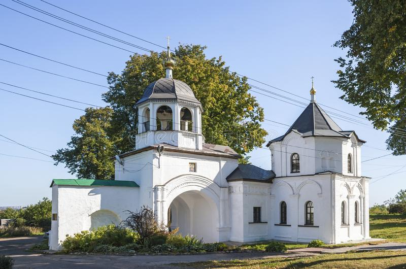 Heiliges Gatter Moskovskaya-Straße, Pereslavl-Zalessky, Yaroslavl-Region Russische Föderation lizenzfreie stockbilder