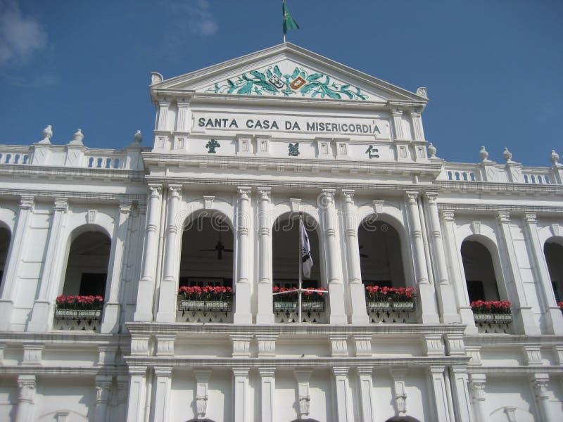 Heiliges Haus Macaos der Gnade lizenzfreie stockfotos
