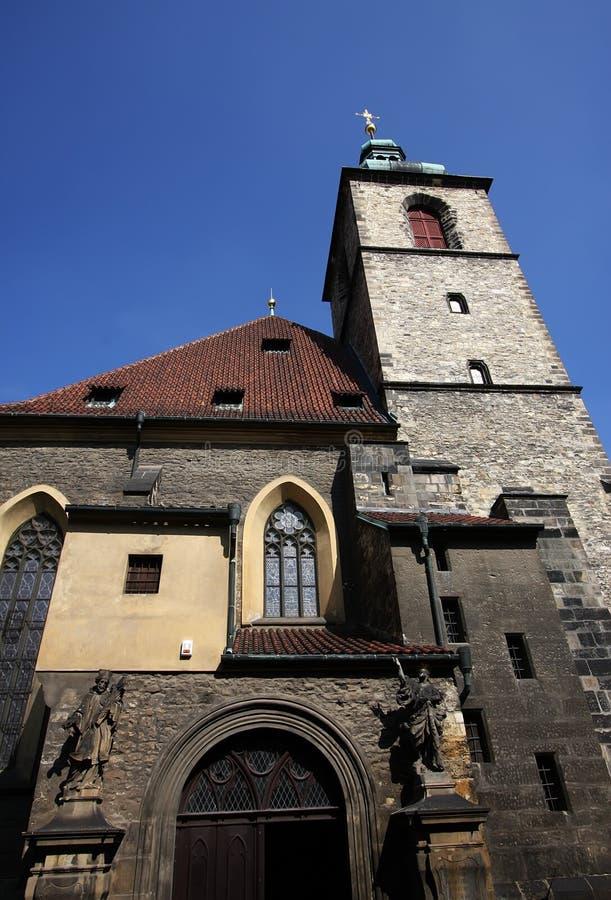 Download Heiliges Jindrich Kirche, Prag Stockfoto - Bild von blau, himmel: 9091610
