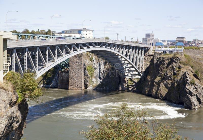 Heiliges John Town Bridge stockfotografie