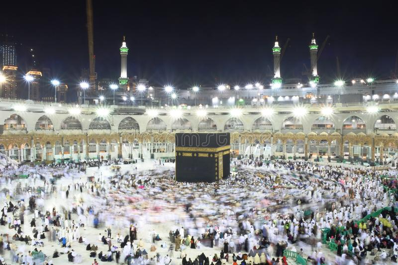 Heiliges Kabba-Mekka stockfotografie
