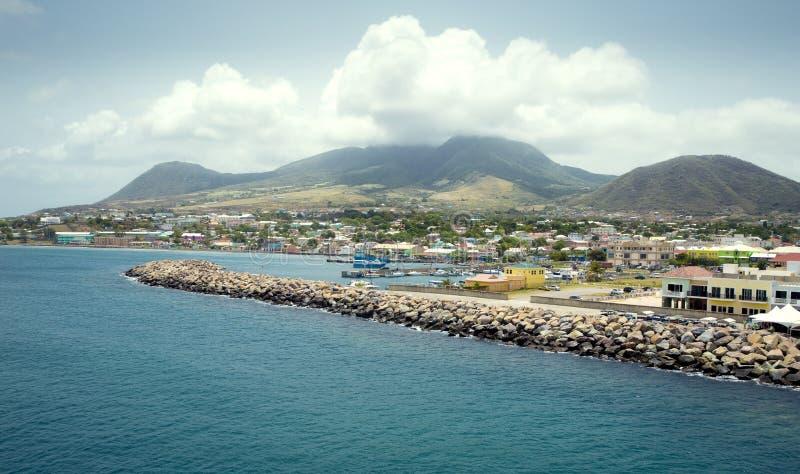 Heiliges Kitts-Insel lizenzfreie stockbilder