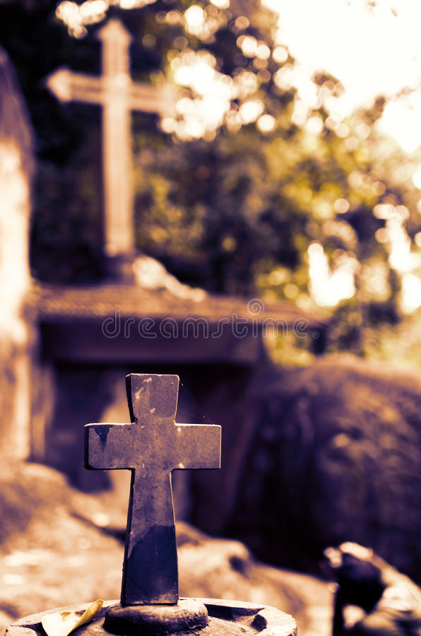 Heiliges Kreuz lizenzfreie stockfotografie