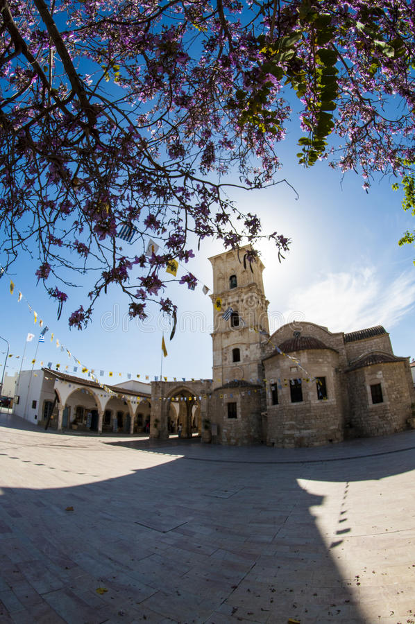 Heiliges Lazarus Church in Larnaka, Zypern stockfotos