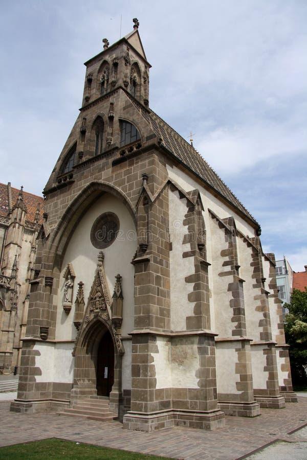 Heiliges Michael Chapel in Kosice (Slowakei) lizenzfreies stockfoto