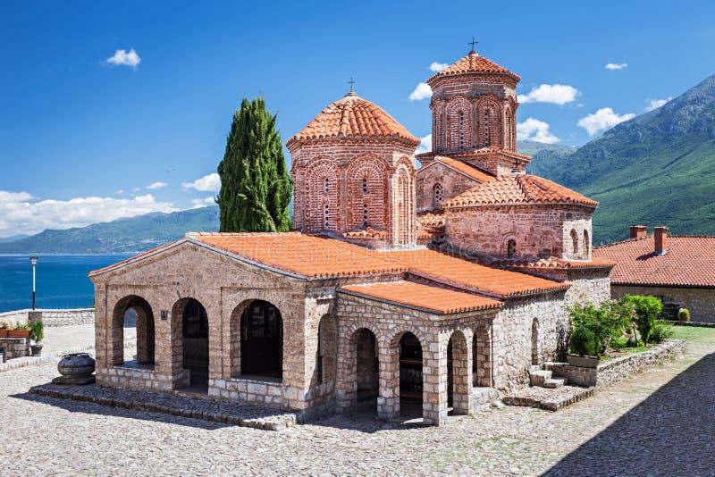 Heiliges Naum Kloster lizenzfreies stockfoto