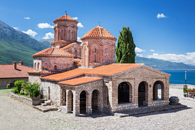 Heiliges Naum Kloster stockfoto