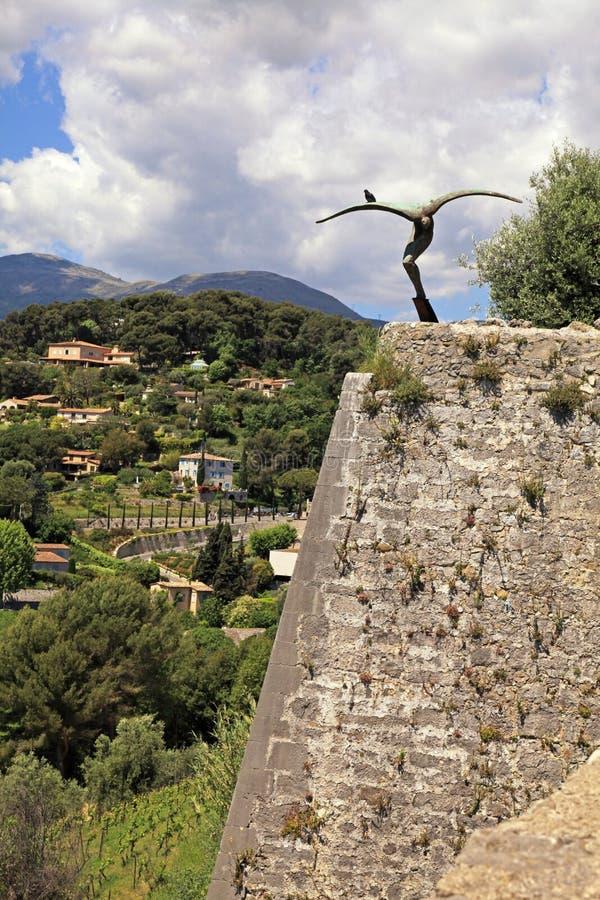 Heiliges Paul de Vence, Provence, Frankreich lizenzfreies stockfoto