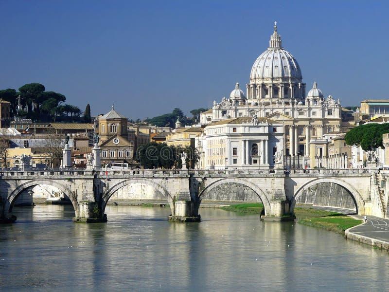 Heiliges peters Basilika, Rom stockbild