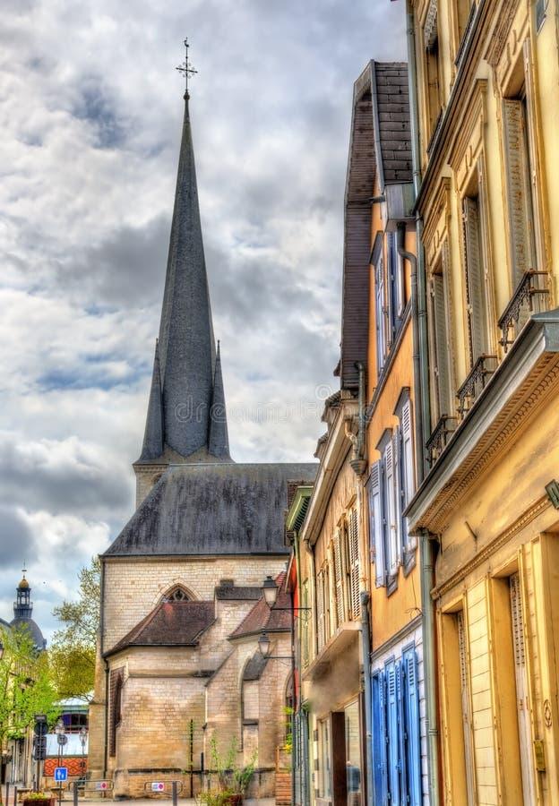 Heiliges Remy Church von Troyes in Frankreich lizenzfreies stockfoto