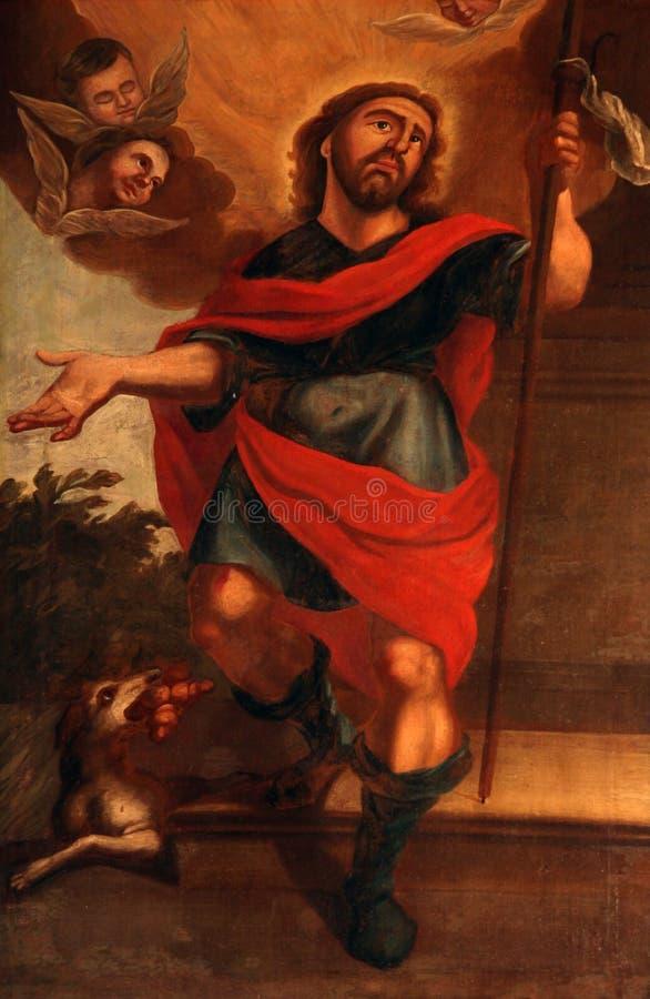 Heiliges Roch stockbilder