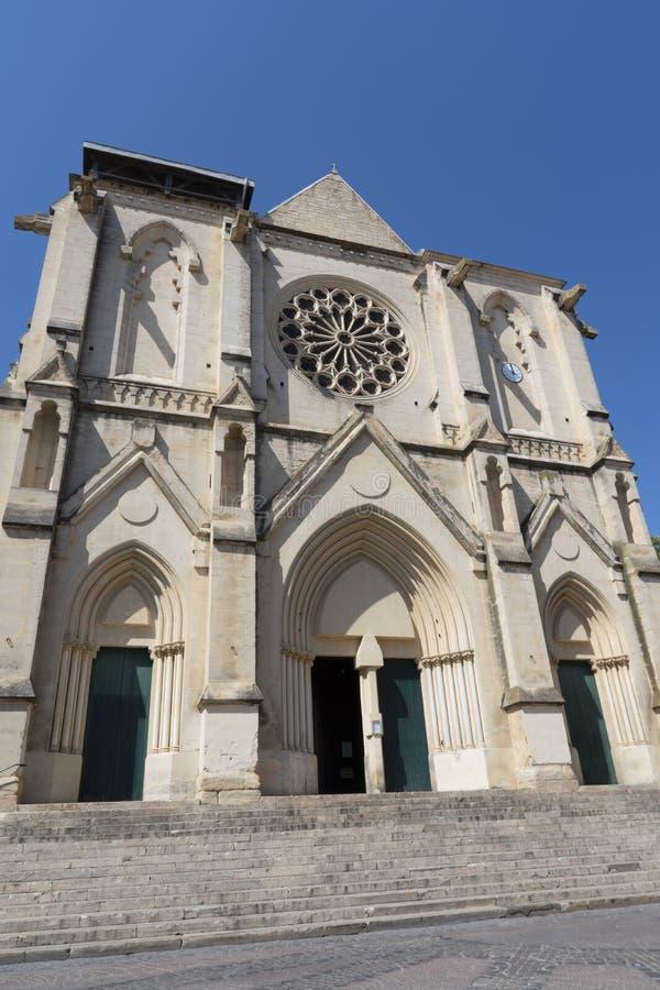 Heiliges Roch-Kirche - Montpellier - Frankreich stockfotos