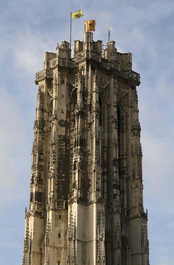 Heiliges Rumboldts Kathedrale in Mechelen stockfotografie