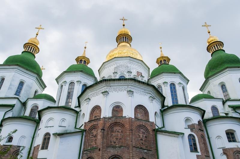 Heiliges Sophia Kathedrale in Kiew, Ukraine stockfoto