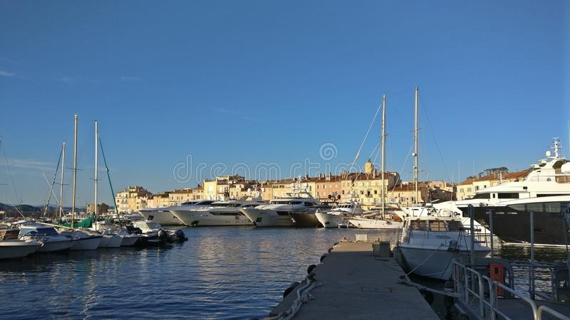 Heiliges Tropez stockbild