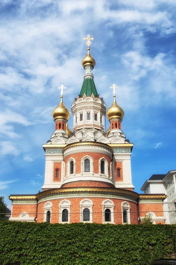 Heiligesnicholas-orthodoxe Kathedrale stockbild