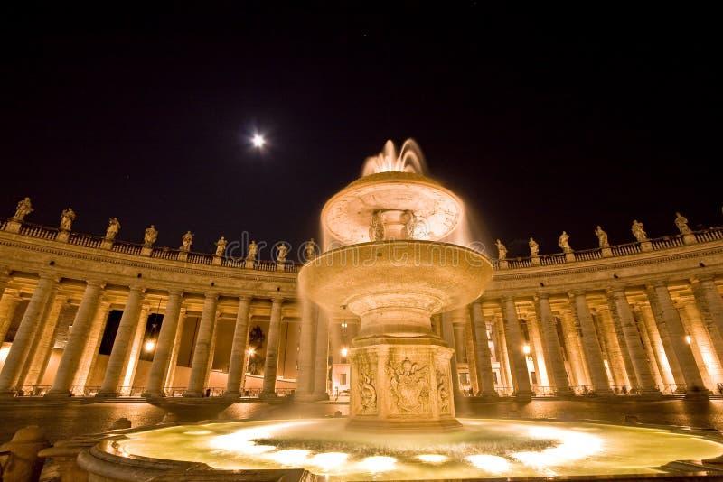 Heiligespeters Quadrat. Rom. Italien., Vatican stockfotos
