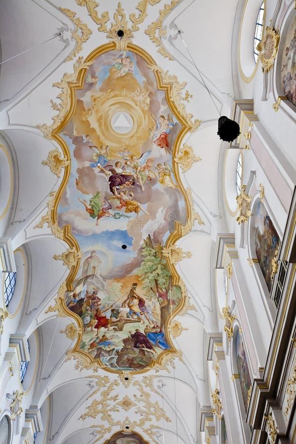 Heiliggeistkirche, München stockfotos