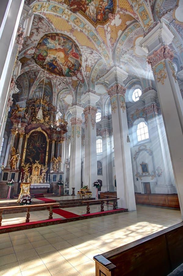 Heiliggeistkirche, Munich royalty free stock photo