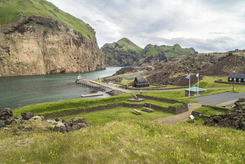 Heimaey, Westman Isles, Iceland stock photos