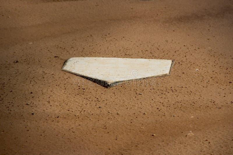Heimatbasis des Baseballs lizenzfreie stockbilder