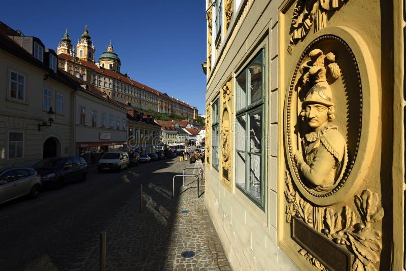 Heimatmuseum i Melk, Wachau, Österrike royaltyfri foto