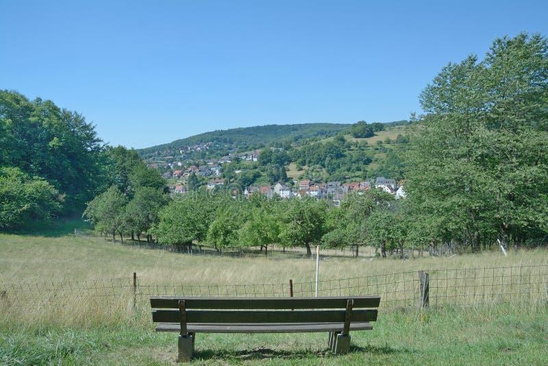 Heimbuchenthal, Spessart, Bayern, Deutschland lizenzfreies stockfoto