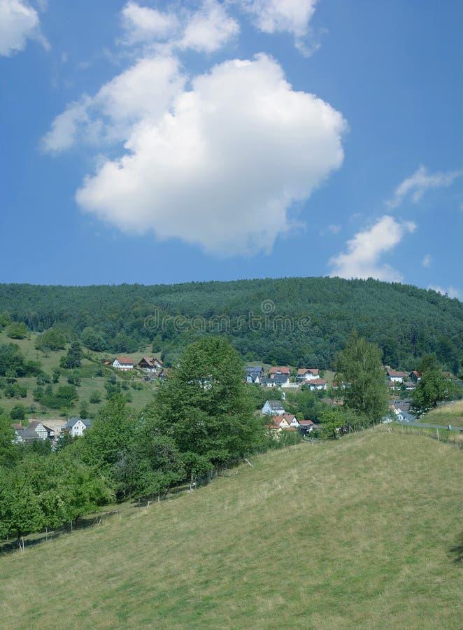 Heimbuchenthal, Spessart-Naturreservat, Deutschland lizenzfreie stockbilder