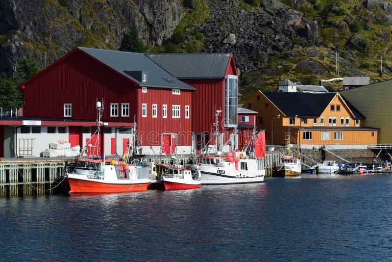 Heimgardsbrygga Noorwegen royalty-vrije stock afbeelding