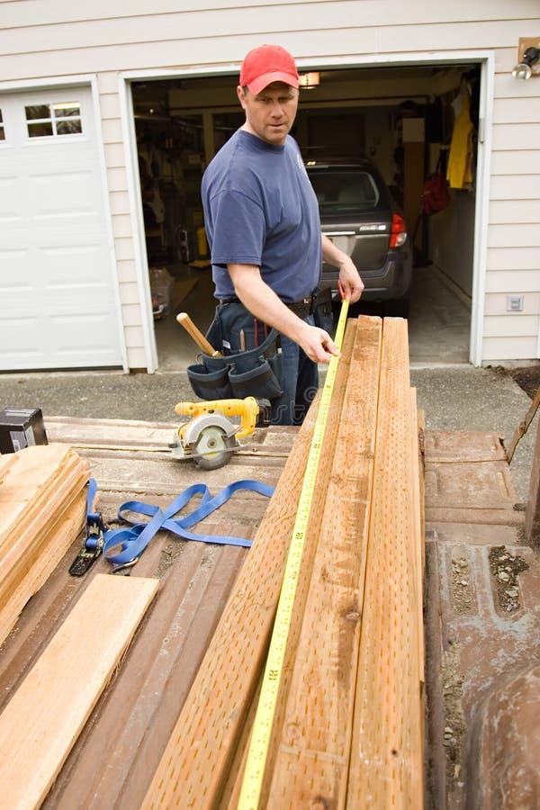 Heimwerkerhauptreparaturprojekte stockfoto