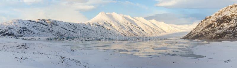 Download Heinabergsjokull Morning Panorama Stock Photo - Image: 38964156