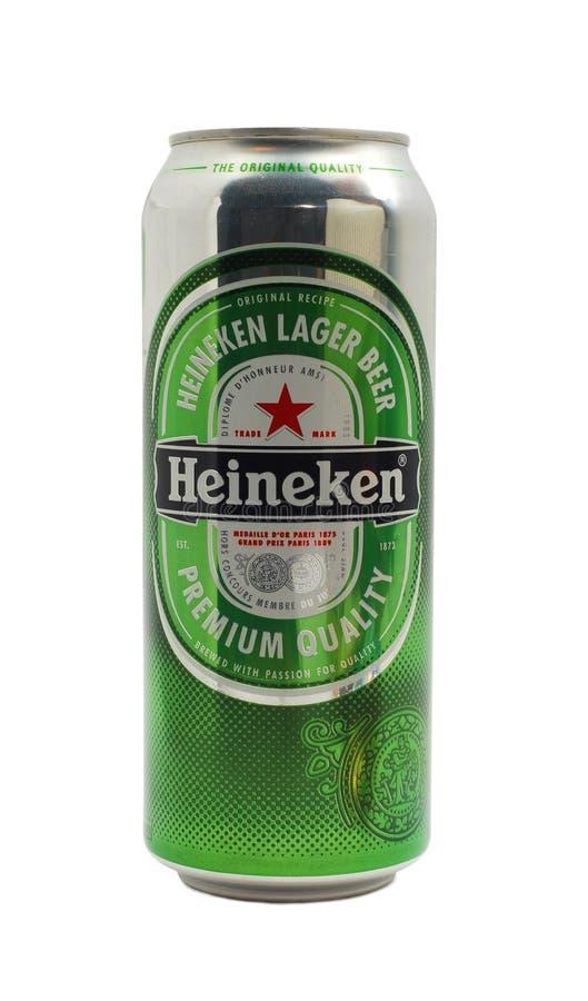 Heineken foto de archivo libre de regalías