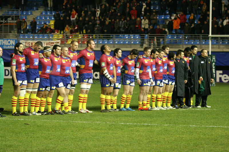 Download Heineken Cup Rugby Match USAP Vs Treviso Editorial Image - Image: 12668745