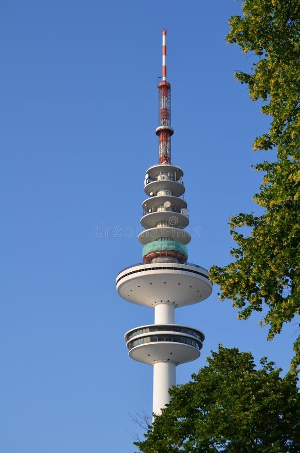 Heinrich-Hertz-Radio-torre a Amburgo, Germania fotografia stock