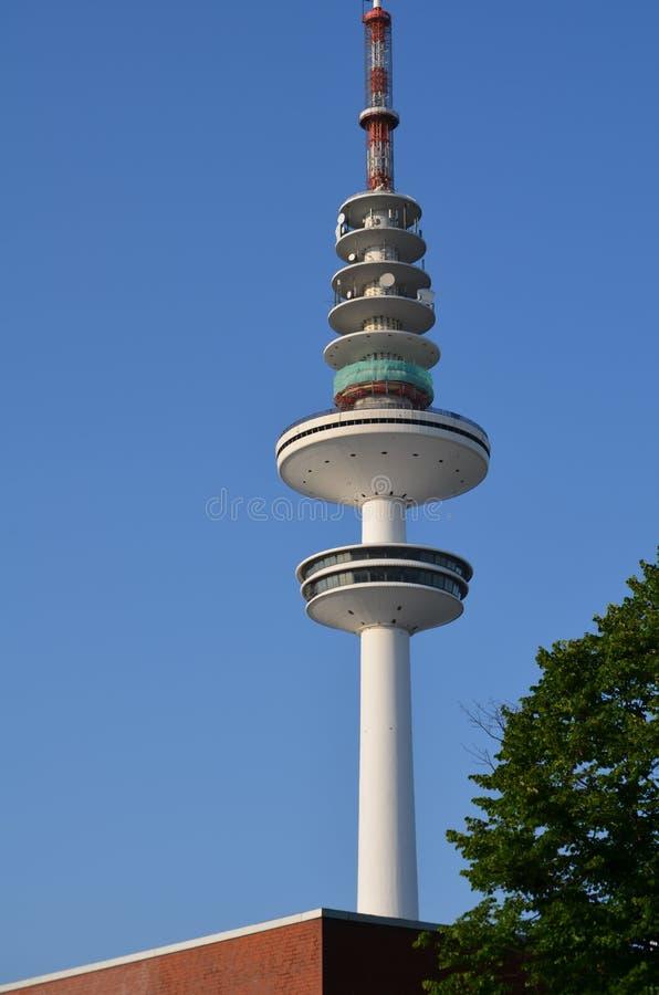 Heinrich-Hertz-Radio-torre a Amburgo, Germania immagini stock