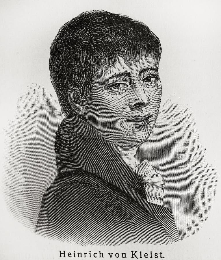 Heinrich Kleist fotografia stock