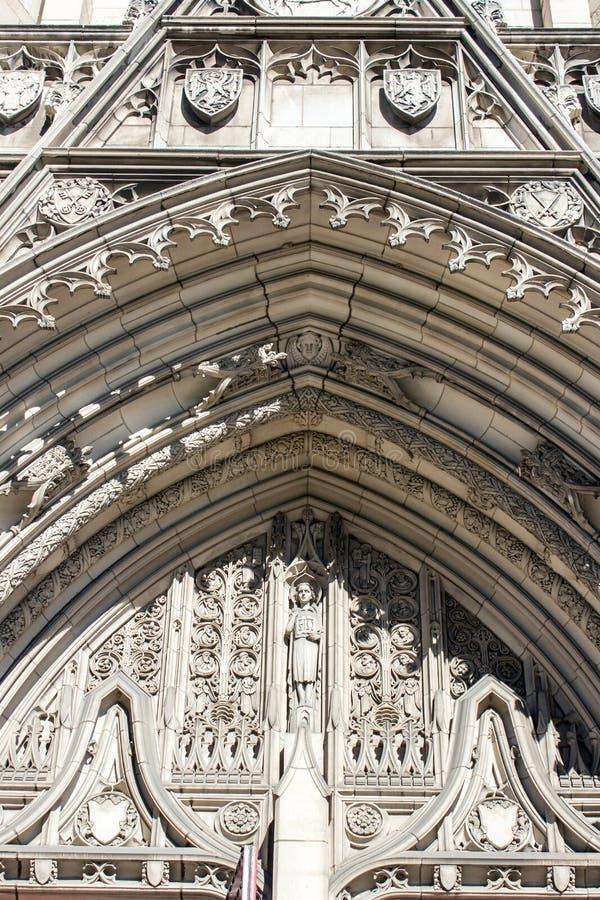 Heinz Chapel Arch fotografia stock