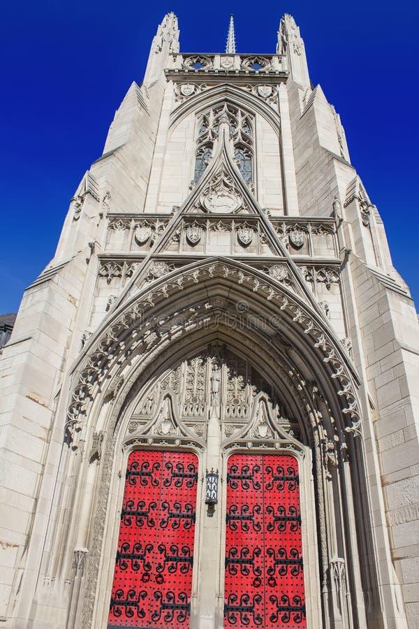 Heinz Chapel Closed Doors stockbilder
