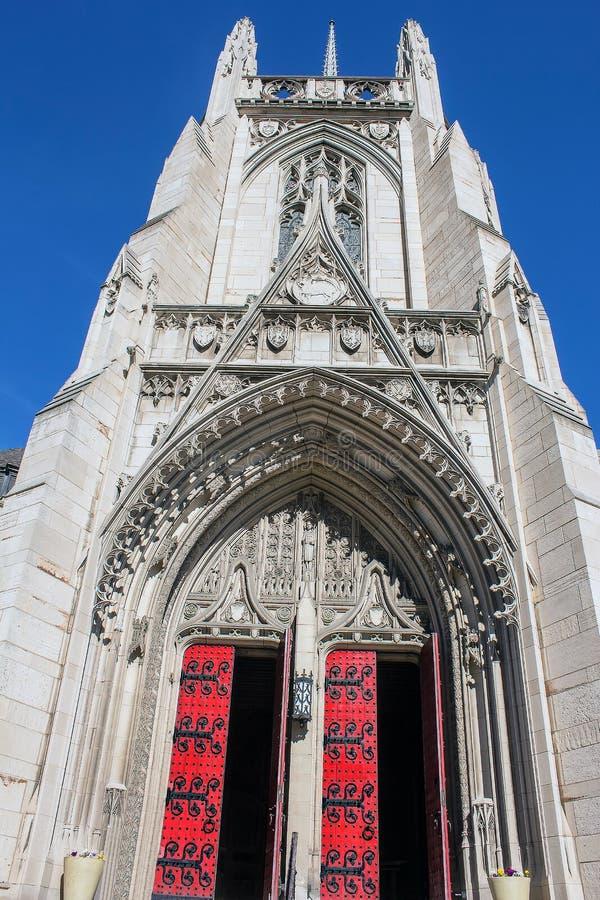 Heinz Chapel Open Doors fotos de archivo libres de regalías