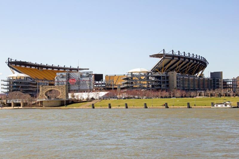 Heinz Field Across el río foto de archivo libre de regalías
