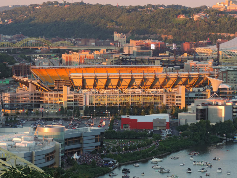 Heinz Field stock photo