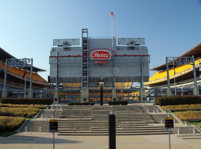 Heinz Field Home di Pittsburgh immagine stock libera da diritti
