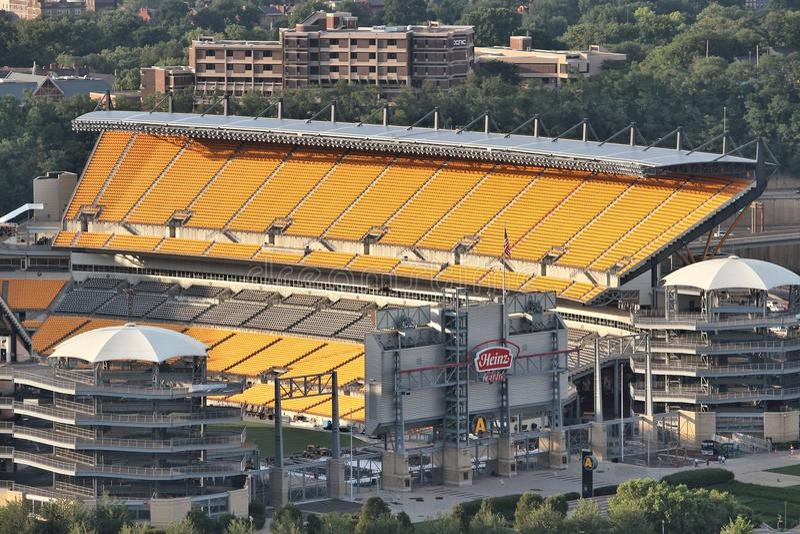 Heinz Field, Pittsburgh immagini stock libere da diritti
