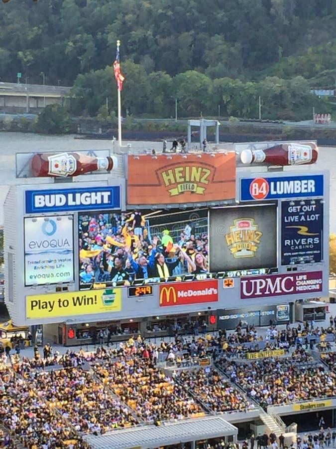 Heinz-gebied Pittsburgh royalty-vrije stock afbeeldingen