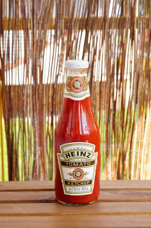 Heinz Ketchup fotografia de stock