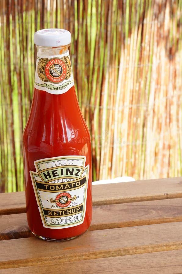 Heinz Ketchup foto de stock